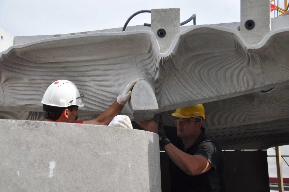 Smart Slab installation